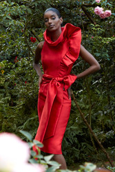 Badgely Mishcka Spring 2021 Collection Look 18