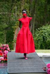 Christian Siriano Spring 2021 Collection Look 7