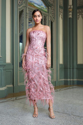 Pamell Roland Evening Wear Spring 2021 Look 1