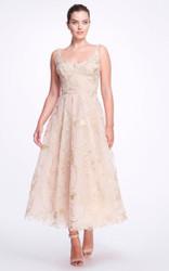 Marchesa Embroidered Tulle Ballerina Dress