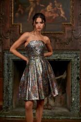 Pamella Roland Fall 2021 Evening Wear Look 8