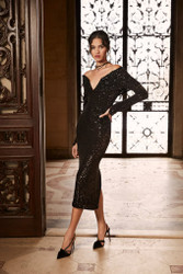 Pamella Roland Fall 2021 Evening Wear Look 3