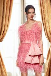 Pamella Roland Fall 2021 Evening Wear Look 15