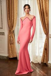 Pamella Roland Fall 2021 Evening Wear Look 16