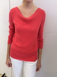 Rena Lange Red Sweater