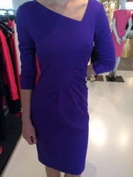 Escada Blue Dress