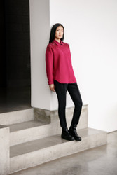 Catherine Regehr Jane Shirt with Crystalled Shoulders