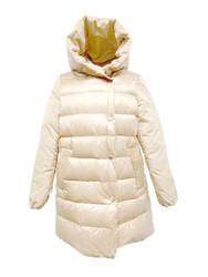 Violanti Reversible Hooded Nylon Down Jacket