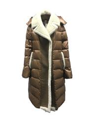 Violanti Down and Sheepskin Coat