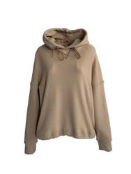 Violanti Hooded Sweatshirt in Velvet