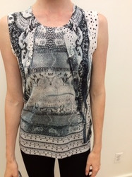 Roberto Cavalli Sleeveless Top