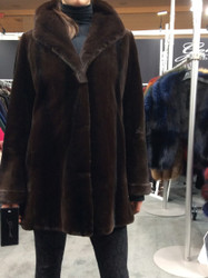 Gorski Brown Fur Coat