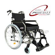Affinity® Folding Aluminium Wheelchair & Cushion Combo