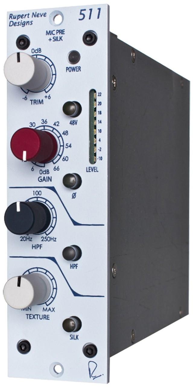 rupert neve design 511 500 series mic pre with silk stl pro audio. Black Bedroom Furniture Sets. Home Design Ideas