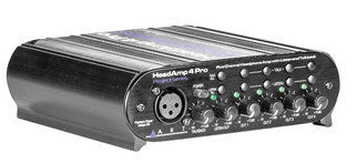ART - HeadAMP 4 Pro Five Channel Headphone Amplifier with Talkback
