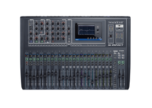 SOUNDCRAFT SI IMPACT 40-INPUT DIGITAL MIXING CONSOLE AND 32-IN/32-OUT USB INTERFACE