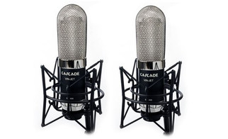 Cascade - VIN-JET Long Ribbon Microphones with Lundahl Upgrade - Matched Pair