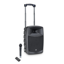 "LD SYSTEMS ROADBUDDY - 10"" Battery Powered Speaker with Wireless Microphone and Bluetooth"