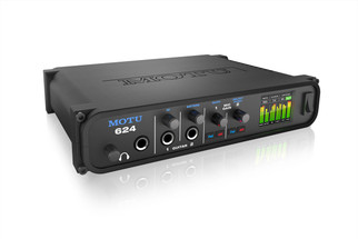 MOTU 624 - ThunderboltTM/USB3/AVB Ethernet audio interface with DSP and mixing