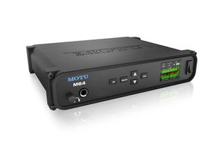 MOTU M64 USB2/AVB Ethernet MADI Audio Interface with DSP, wireless control and audio networking