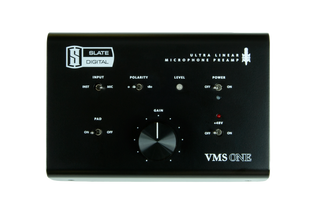 Slate Digital VMS-ONE Linear Microphone Preamp