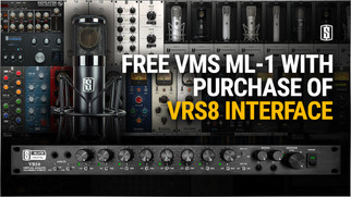 Slate Digital - VRS8 Audio Interface + Free ML-1 Microphone May Special