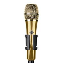 Telefunken Elektroakustik M80  -  Supercardioid Dynamic Microphone - Gold Body