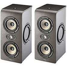 "Focal Shape Twin Dual 5"" Powered Studio Monitor with Passive Radiators Pair + Freebies"