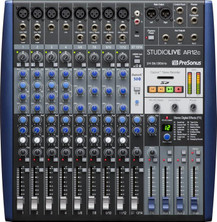 PreSonus StudioLive AR12c Mixer and Audio Interface with Effects