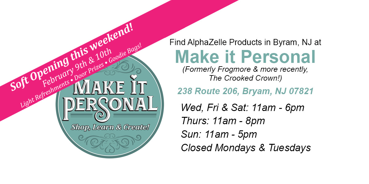 Make it Personal in Byram, NJ Soft Opening this weekend!