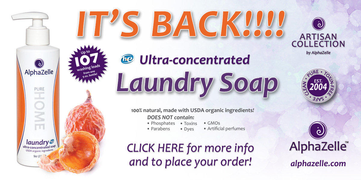 AlphaZelle Ultra-concentrated Laundry Soap HE