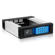 iStarUSA BPN-DE110SS-BLUE 1x5.25inch Bay SAS SATA 6.0 Gbps