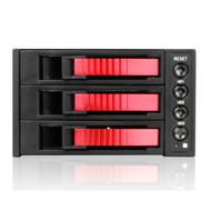 iStarUSA BPU-230SATA-RED 2x5.25-3x3.5 SATA Cage-Red
