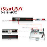 iStarUSA D-213-MATX 2U Compact Rackmount microATX Chassis