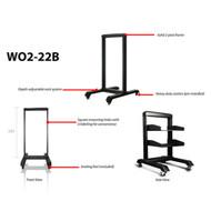 iStarUSA WO2-22B 22U 2 Post Open Frame Rack