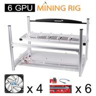AAAwave mining set - Case + 4 x Artic fan + 6 PCI-E Version 007