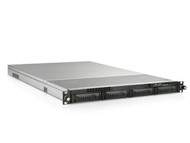 iStarUsa 1U 4-Bay Storage Server Rackmount Chassis with 650W Redundant Power Supply