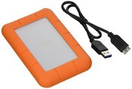 LaCie LAC301558 Rugged Mini USB 3.0 Portable External HD, Orange, 1TB …