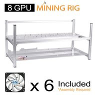 AAAwave Mining Case 12 GPU+FAN ARCTIC F12 silent Cooling ACFAN00027A by ARCTIC x 10 …