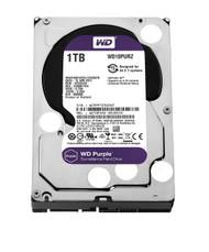 WD Purple 1TB Surveillance Hard Disk Drive - 5400 RPM Class SATA 6 Gb/s 64MB Cache 3.5 Inch - WD10PURZ …