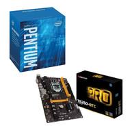 Special bundle - Biostar TB250-BTC Core i7/i5/i3 LGA1151 Intel B250 DDR4 SATA PCI Express USB ATX Retail + Intel BX80677G4560 Pentium G4560 Series 3.50 GHz Dual-Core LGA 1151 Processor