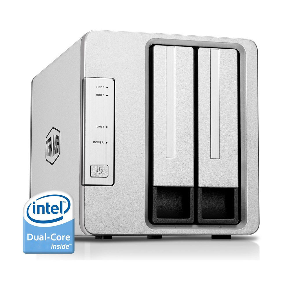 Qnap TS-451+-8G-US 4-Bay Next Gen Personal Cloud NAS, Intel 2 0GHz
