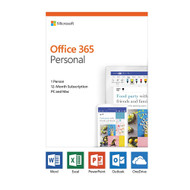 Microsoft QQ2-00728 Office 365 2019 Personal Subscription 1-User PC/Mac - 1 Year