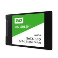"WD WDS480G2G0A Green 480GB SATA III 2.5"" 7mm Internal Solid State Drive"