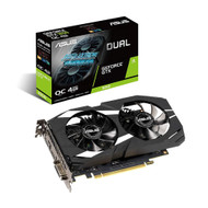 Asus Dual-GTX1650-O4G GeForce GTX 1650 Overclocked 4GB Dual-Fan Edition VR Ready HDMI DP 1.4 DVI Graphics Card
