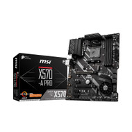 MSI X570-A PRO AMD AM4 SATA 6Gb/s M.2 USB 3.2 Gen 2 HDMI ATX Motherboard