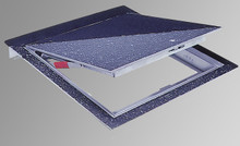 Acudor 24 x 36 Hinged Floor Door with 1/8 Recess for Vinyl Tile / Carpet - Acudor