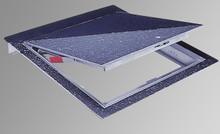 Acudor 30 x 30 Hinged Floor Door with 1/8 Recess for Vinyl Tile / Carpet - Acudor