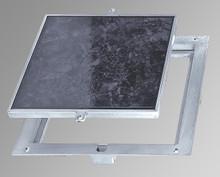 Acudor 18 x 18 Removeable Floor Door - 1 Recess for Ceramic Tile / Concrete - Acudor