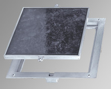 Acudor 24 x 24 Removeable Floor Door - 1/8 Recess for Vinyl Tile / Carpet - Acudor